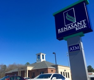 Renasant Bank's newest location