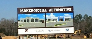parker mcgill dealership