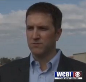 Bank of Vernon CEO Andy Johnson (WCBI)