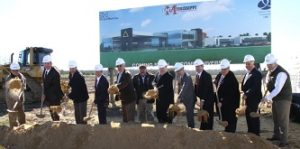 EMCC Communiversity Groundbreaking. Courtesy The GTR LINK